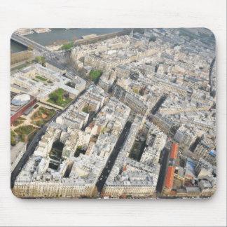 Aerial view of Paris, France Mouse Mat
