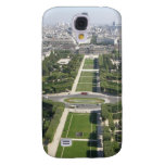 Aerial View of Paris Galaxy S4 Covers