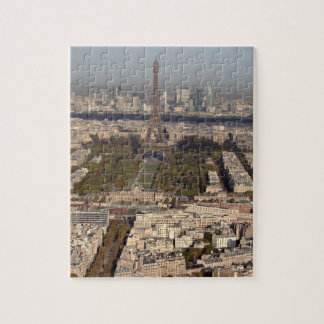 AERIAL VIEW OF PARIS JIGSAW PUZZLE