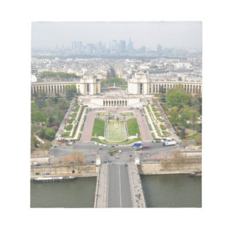 Aerial view of Paris Notepad