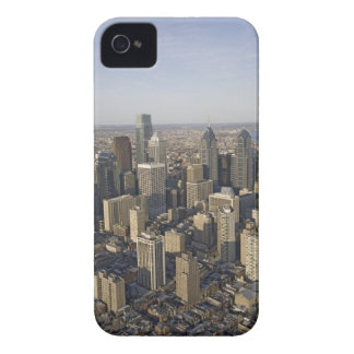 Aerial view of Philadelphia, Pennsylvania Case-Mate iPhone 4 Cases