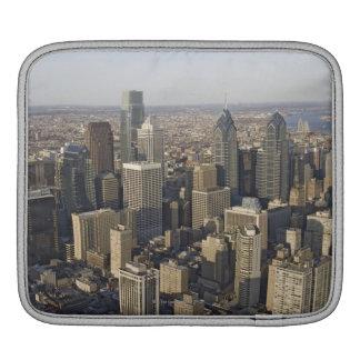 Aerial view of Philadelphia, Pennsylvania iPad Sleeve