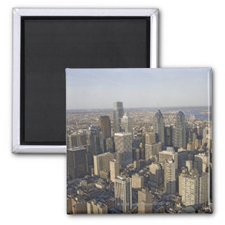 Aerial view of Philadelphia, Pennsylvania Magnet