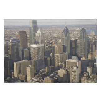 Aerial view of Philadelphia, Pennsylvania Placemat