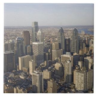 Aerial view of Philadelphia, Pennsylvania Tile