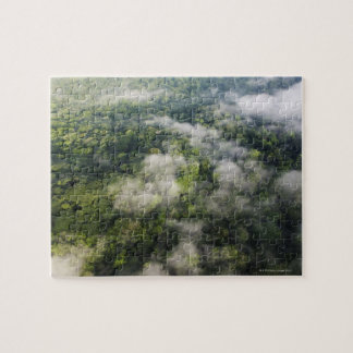 Aerial View of Rainforest, Panama Jigsaw Puzzle