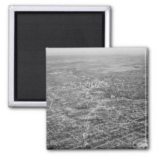 Aerial View of San Antonio, 1939 Magnet
