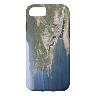 Aerial view of Sea Cliff Bridge near Wollongong, 2 iPhone 8/7 Case