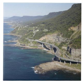 Aerial view of Sea Cliff Bridge near Wollongong, 2 Tile