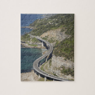 Aerial view of Sea Cliff Bridge near Wollongong, Jigsaw Puzzle