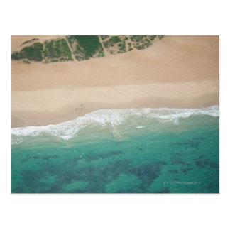 Aerial view of Sea view Beach, Port Elizabeth, Postcard