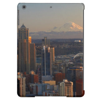 Aerial view of Seattle city skyline 2 Case For iPad Air
