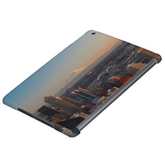 Aerial view of Seattle city skyline 2 Cover For iPad Air