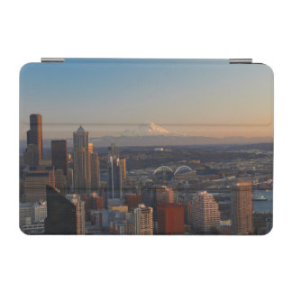 Aerial view of Seattle city skyline 2 iPad Mini Cover