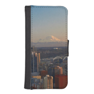 Aerial view of Seattle city skyline 2 iPhone SE/5/5s Wallet Case