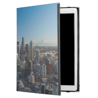"""Aerial view of Seattle city skyline iPad Pro 12.9"""" Case"""
