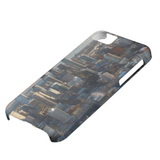 Aerial view of Seattle city skyline iPhone 5C Case