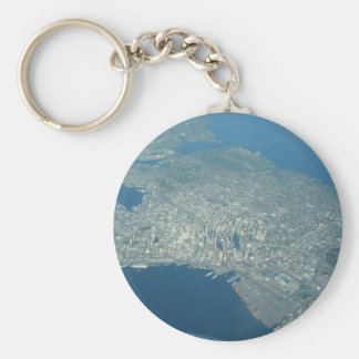 Aerial view of Seattle Key Ring