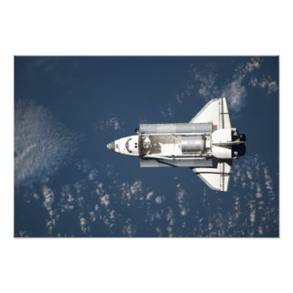 Aerial view of Space Shuttle Discovery 3 Photo Print
