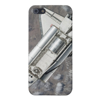Aerial view of Space Shuttle Discovery iPhone 5/5S Covers
