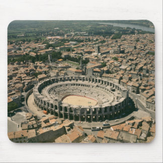 Aerial view of the amphitheatre mouse mat