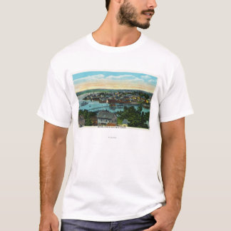 Aerial View of the Boothbay Harbor T-Shirt