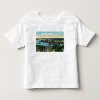Aerial View of the Boothbay Harbor Toddler T-Shirt