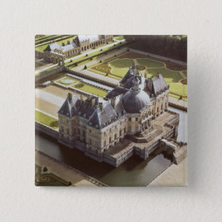 Aerial view of the Chateau, designed for Nicholas 15 Cm Square Badge
