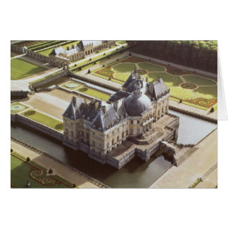 Aerial view of the Chateau, designed for Nicholas Card