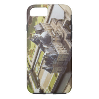 Aerial view of the Chateau, designed for Nicholas iPhone 8/7 Case
