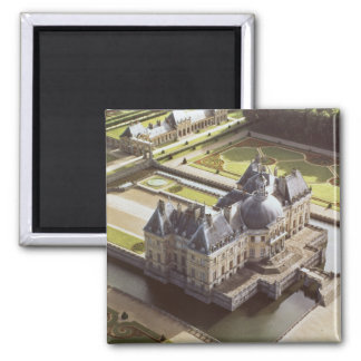 Aerial view of the Chateau, designed for Nicholas Magnet