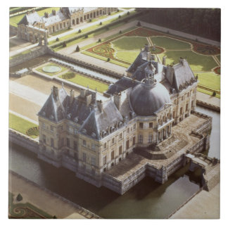 Aerial view of the Chateau, designed for Nicholas Tile