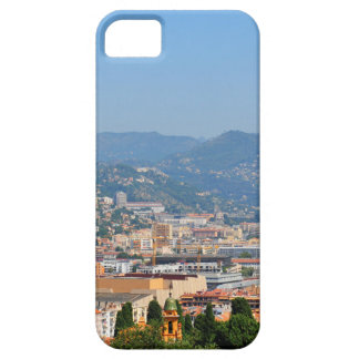 Aerial view of the city of Nice in France iPhone 5 Case