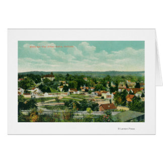 Aerial View of the CityPaso Robles, CA Card