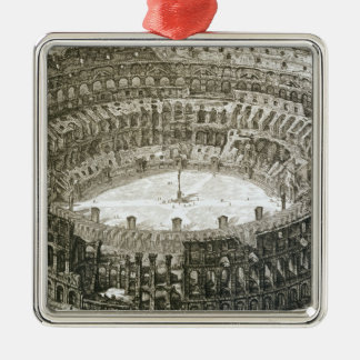Aerial view of the Colosseum in Rome from 'Views o Christmas Ornament