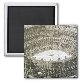 Aerial view of the Colosseum in Rome from 'Views o Magnet