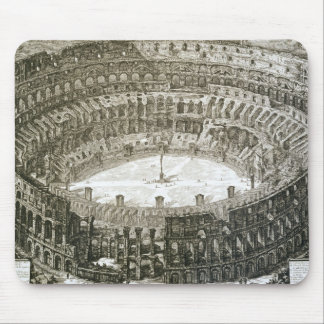 Aerial view of the Colosseum in Rome from 'Views o Mouse Mat