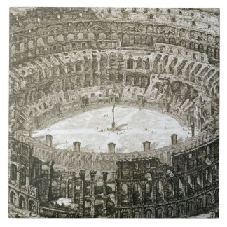 Aerial view of the Colosseum in Rome from 'Views o Tile