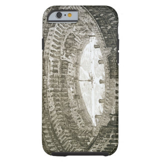 Aerial view of the Colosseum in Rome from 'Views o Tough iPhone 6 Case