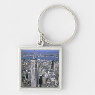 Aerial view of the Empire State Building and Key Ring