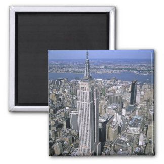 Aerial view of the Empire State Building and Magnet