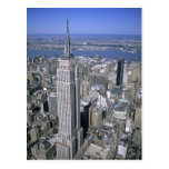 Aerial view of the Empire State Building and Post Card
