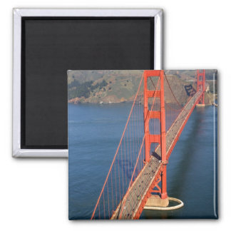 Aerial view of the Golden Gate Bridge in the Magnet