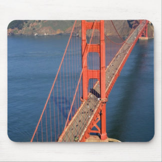 Aerial view of the Golden Gate Bridge in the Mouse Mat