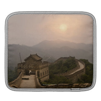 Aerial view of the Great Wall of China iPad Sleeve
