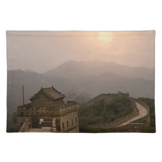Aerial view of the Great Wall of China Placemat
