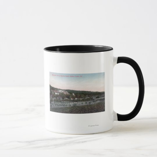 Aerial View of the Knowles Granite Quarry Mug