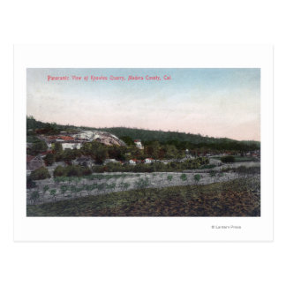 Aerial View of the Knowles Granite Quarry Postcard