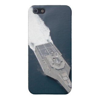 Aerial view of the littoral combat ship case for the iPhone 5