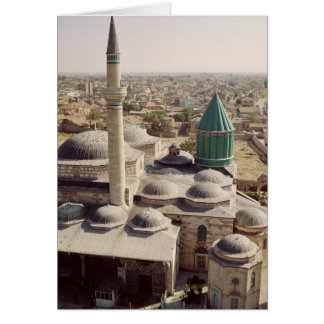Aerial view of the Mevlana Tekke Card